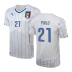Puma  Italy Pirlo #21 World Cup 2014 Soccer Jersey (Away)