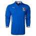 Puma Italy Long Sleeve World Cup 2014 Soccer Jersey (Home)