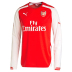 Puma  Arsenal Long Sleeve Soccer Jersey (Home 2014/15)