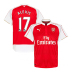 Puma Arsenal  Alexis #17 Soccer Jersey (Home 2015/16)