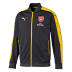 Puma  Arsenal  Stadium Soccer Jacket (Gray/Yellow - 2016/17)