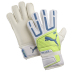 Puma Youth Powercat 3.12 Protect Goalie Glove (White/Neon)