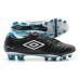 Umbro Speciali 3 Pro HG Soccer Shoes (Black/White/Vivid Blue)