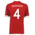 Umbro England Gerrard #4 Soccer Jersey (Away 2010/11)