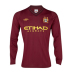 Umbro  Manchester City  Long Sleeve Soccer Jersey (Away 2012/13)