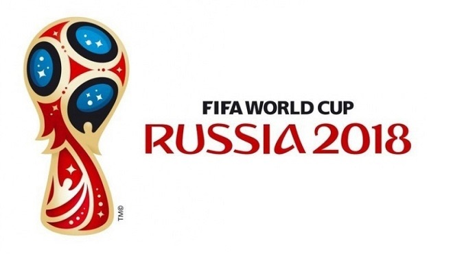 World Cup 2018 White Logo