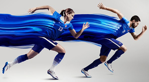 Alex Morgan & Clint Dempsey USA