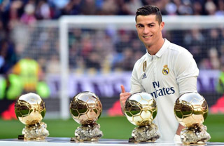 Cristiano Ronaldo CR7 2017 Ballon d'Or