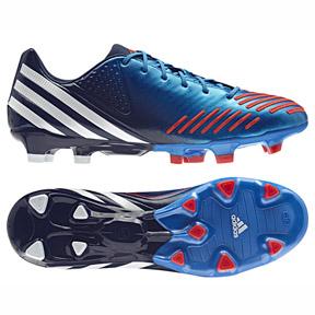 Adidas Predator LZ TRX FG soccer zapatos (azul brillante) @ soccerevolution