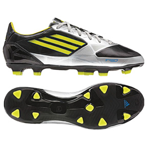 adidas F30 TRX FG Soccer Shoes (Black/Lime)