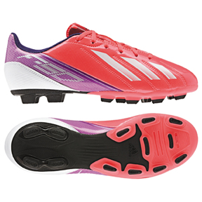 adidas Womens F5 TRX FG Soccer Shoes (Red Zest)