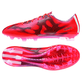 info for aa8b9 fdd73 adidas F50 adiZero TRX FG Soccer Shoes (Solar Red)