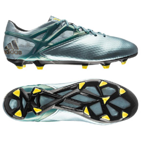 adidas Youth Lionel Messi 15.1 TRX FG Soccer Shoes (Ice)