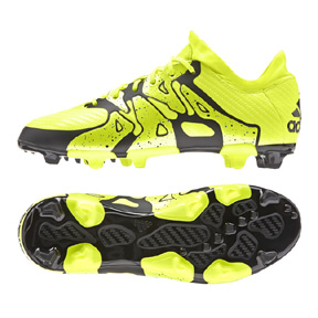 adidas Youth X 15.1 TRX FG Soccer Shoes (Solar Yellow)