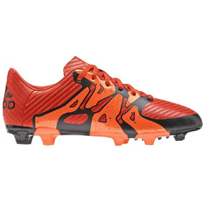 adidas Youth X 15.3 TRX FG/AG Soccer Shoes (Solar Orange)