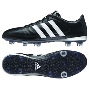 adidas Gloro 16.1 FG Soccer Shoes (Black/White)