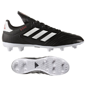 adidas Copa  17.3 FG Soccer Shoes (Black/White/Red)