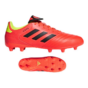 adidas Copa 18.3 FG Soccer Shoes (Solar Red)