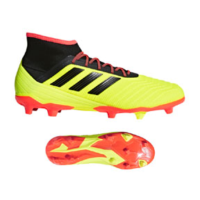 adidas Predator  18.2 FG Soccer Shoes (Solar Yellow)
