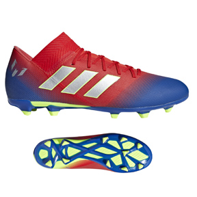 adidas  Lionel Messi Nemeziz  18.3 FG Soccer Shoes (Active Red)