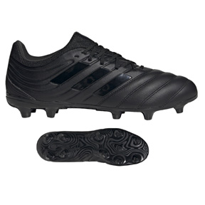 adidas Copa 20.3 FG Soccer Shoes (Core Black/Night Metallic)