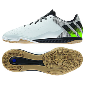 adidas ACE 16.2 CT Indoor Soccer Shoes (White/Green)