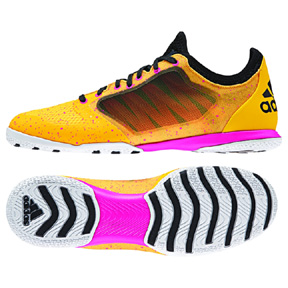 adidas X 15.1 CT Indoor Soccer Shoes (Solar Gold/Black/Pink)