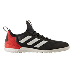 afb62a5b1 adidas ACE Tango 17.1 Indoor Soccer Shoes (Black White Red ...