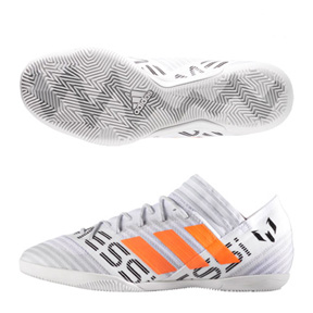 adidas Lionel Messi Nemeziz Tango 17.3 Indoor (White/Orange)