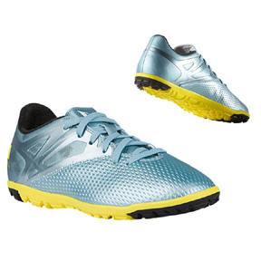 806512d67 adidas Youth Lionel Messi 15.3 Turf Soccer Shoes (Ice Yellow ...