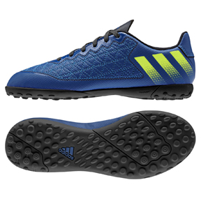 adidas Youth ACE 16.3 Cage Turf Soccer Shoes (Blue/Yellow)