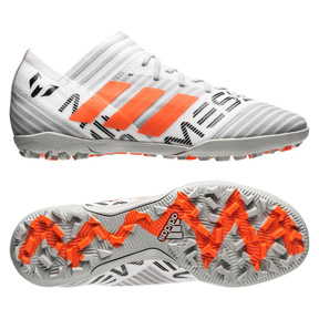 adidas Youth Lionel Messi  Nemeziz Tango 17.3 Turf (White/Orange)