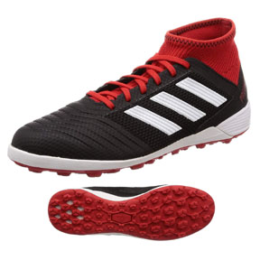 adidas  Predator  Tango  18.3 Turf Soccer Shoes (Black/Cloud White)