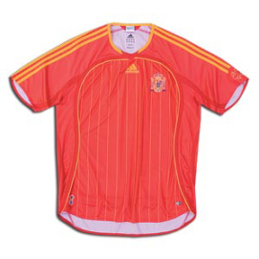 adidas Spain Soccer Jersey (Home 06/07)