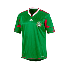 adidas Mexico Soccer Jersey (Home 10/11)