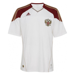 adidas Russia Soccer Jersey (Away 10/11)