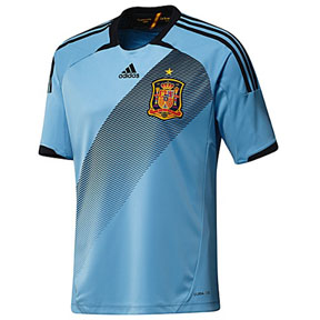 adidas Spain Soccer Jersey (Away 12/13)