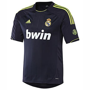 adidas Real Madrid Soccer Jersey (Away 12/13)