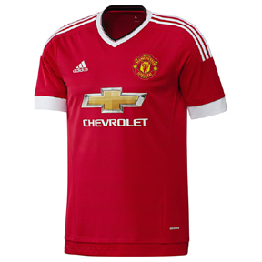 adidas Youth Manchester United Soccer Jersey (Home 15/16)