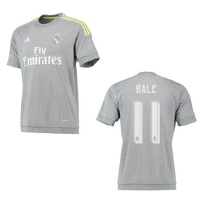 adidas Youth Real Madrid Bale #11 Soccer Jersey (Away 15/16)