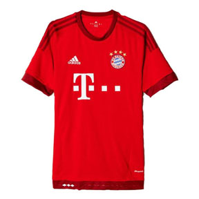 adidas Youth Bayern Munich Soccer Jersey (Home 15/16)