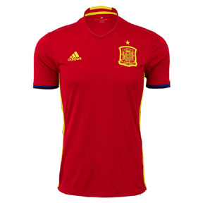 adidas Youth Spain Soccer Jersey (Home 16/17)