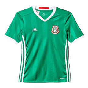 adidas Youth Mexico Soccer Jersey (Home 16/17)