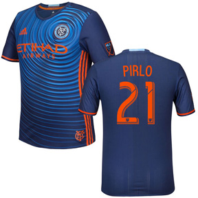 adidas NYCFC Pirlo #21 Soccer Jersey (Away 17/18)