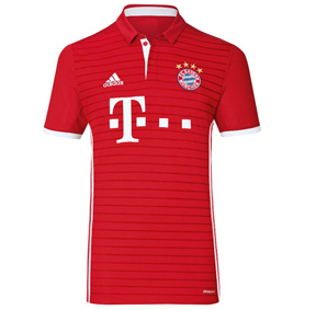 adidas Youth Bayern Munich Soccer Jersey (Home 16/17)