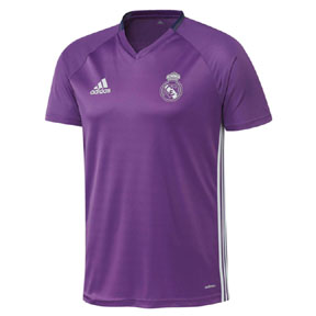adidas Real Madrid Training Soccer Jersey (Purple 16/17)