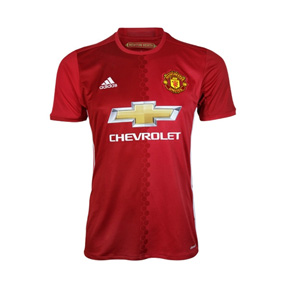 adidas Youth Manchester United Soccer Jersey (Home 16/17)