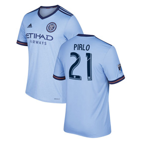adidas NYCFC  Pirlo #21 Soccer Jersey (Home 18/19)