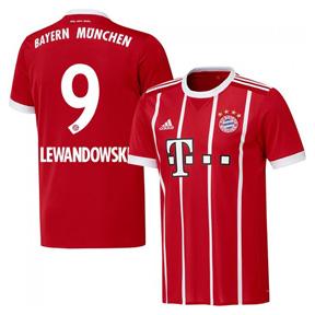 513ec5c5b adidas Youth Bayern Munich Lewandowski  9 Jersey (Home 17 18 ...