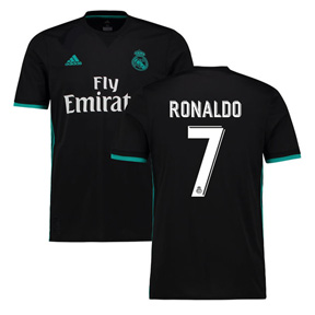 adidas Youth Real Madrid Ronaldo #7 Soccer Jersey (Away 17/18)
